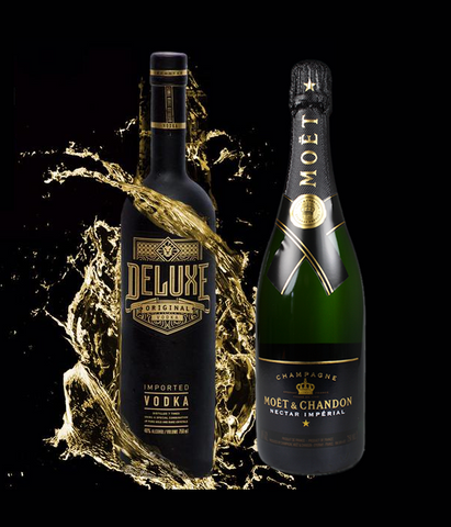 Deluxe Vodka 70cl & Moët Chandon Nectar 75cl