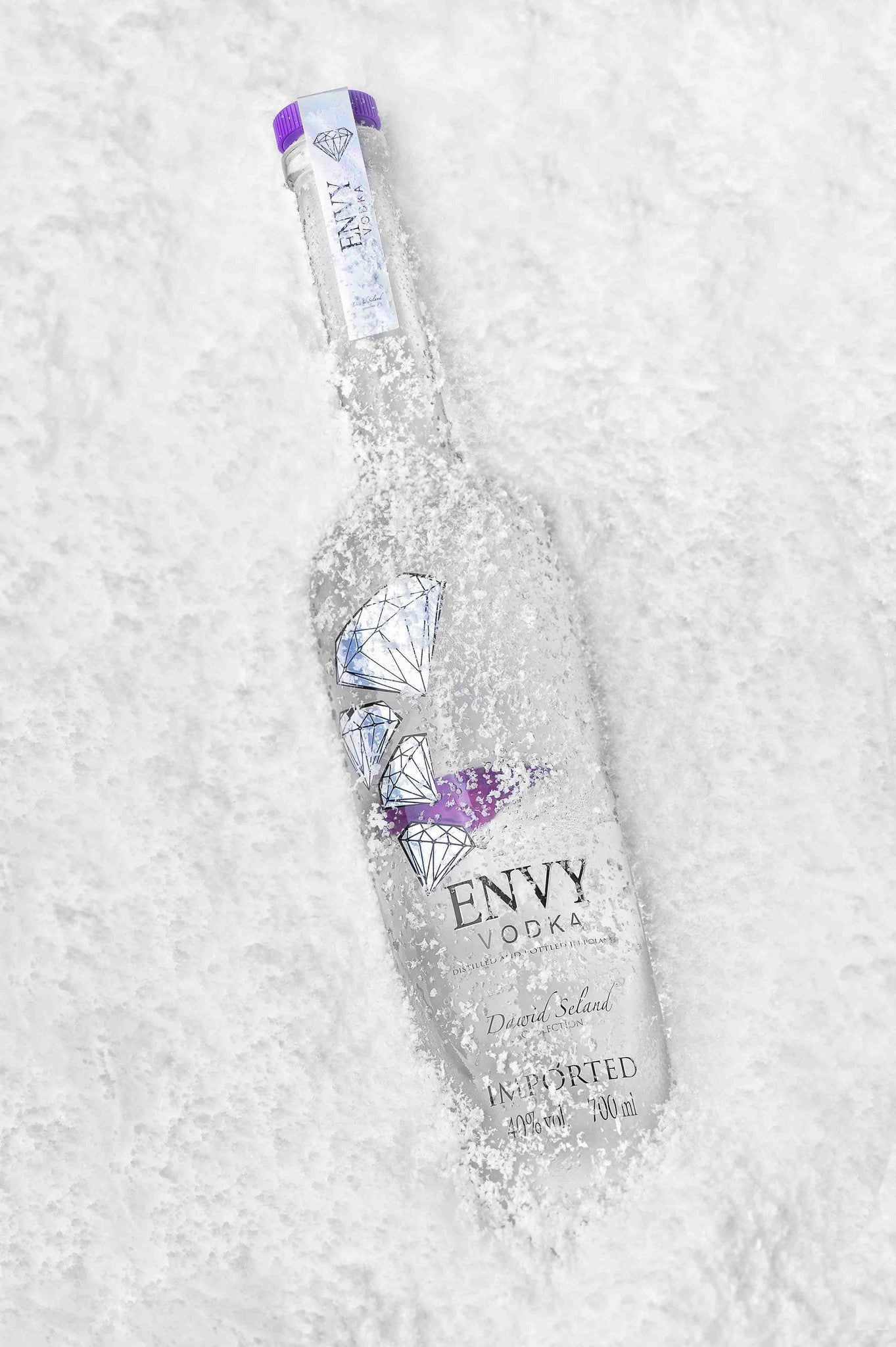 2 x Envy Vodka 40% 70 cl +  2 x Luc Belaire Rosé