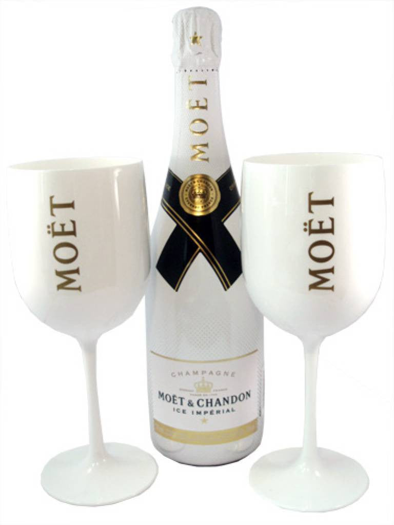 2 x Moët Imperial Icé Glas - Limited Edition