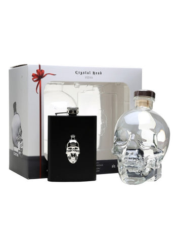 Crystal Head 70cl + Lommelærke