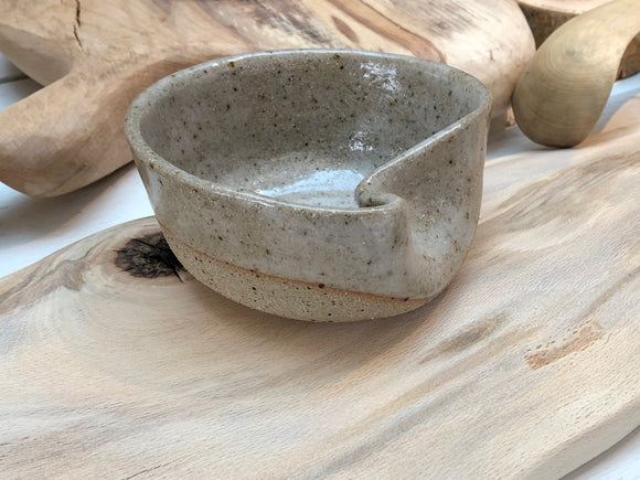 Lava  stoneware ceramic bowl - hand made for you luxury