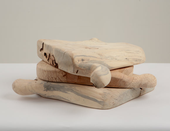 Wooden chopping boards -  hand made spalted wood from reclaimed urban trees.