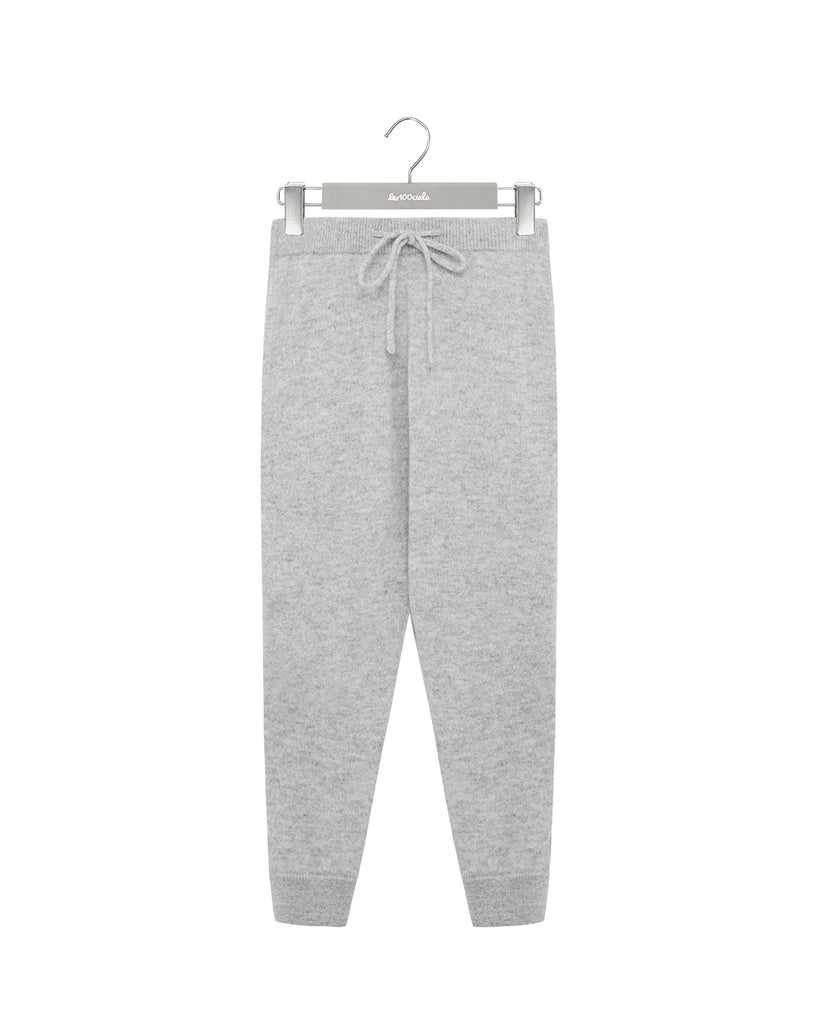 Grey Cashmere Bottoms