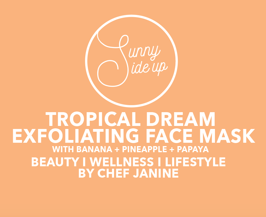 FACE MASK | tropical dream