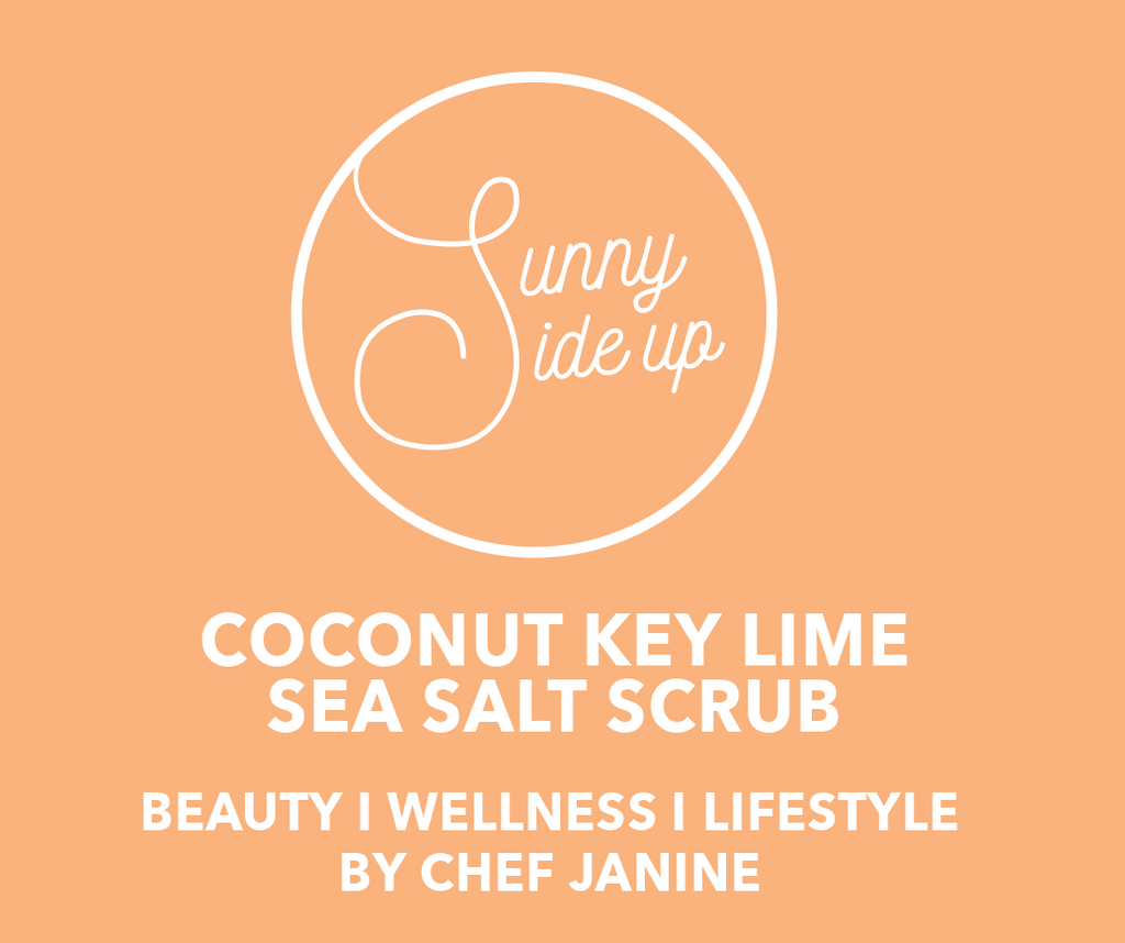 HAND + BODY SCRUB | KEY LIME + COCONUT + SEA SALT