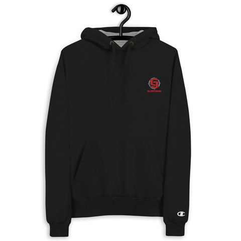 Image of Embroidered Logo Champion Hoodie