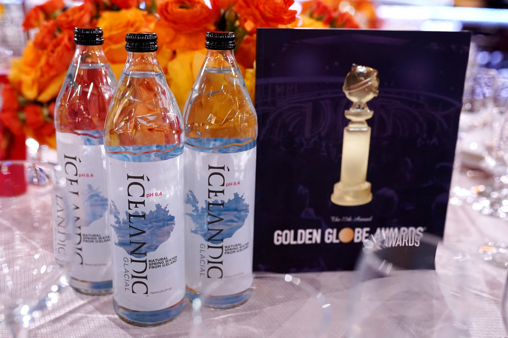 Icelandic Glacial to Return as the Official Water of the 78th Annual Golden Globe® Awards