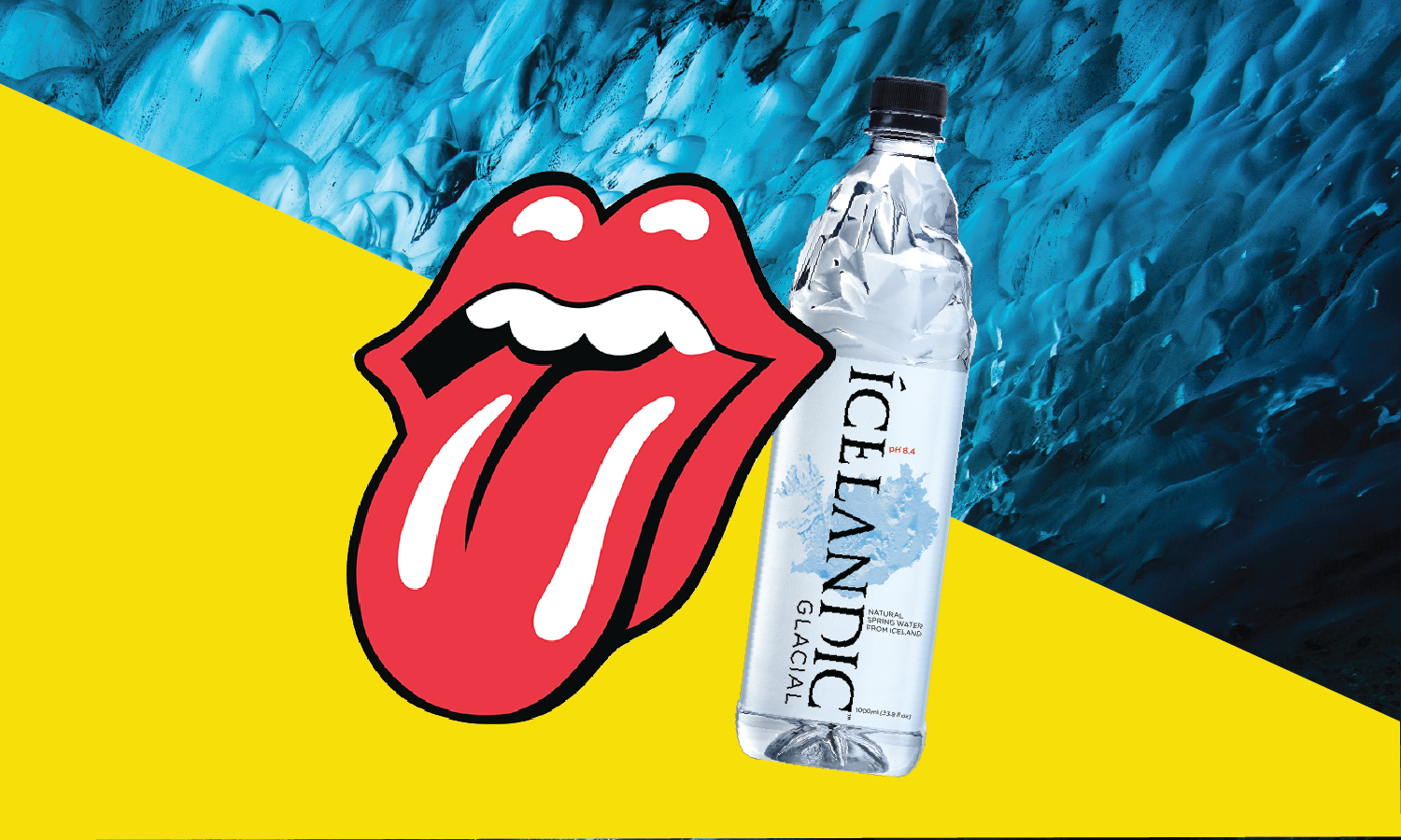 Icelandic Glacial™ Partners with The Rolling Stones to Reduce Carbon Footprint of European Tour