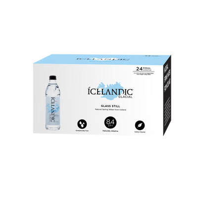 Subscription - 330mL Glass Icelandic Glacial Water Case - LA