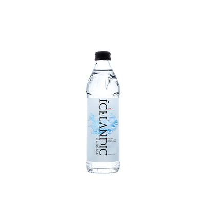 330mL Glass Icelandic Glacial Water Case - LA