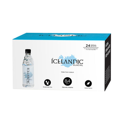 500ml Icelandic Glacial Water Case