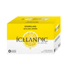 Sicilian Lemon 500ml Sparkling PET Icelandic Glacial Water Case