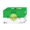 Tahitian Lime 500ml Sparkling PET Icelandic Glacial Water Case