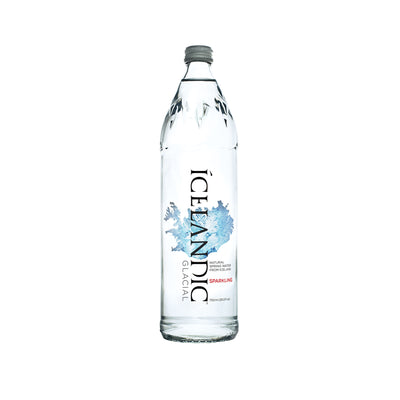 Subscription - 750mL Sparkling Glass Icelandic Glacial Water Case - LA