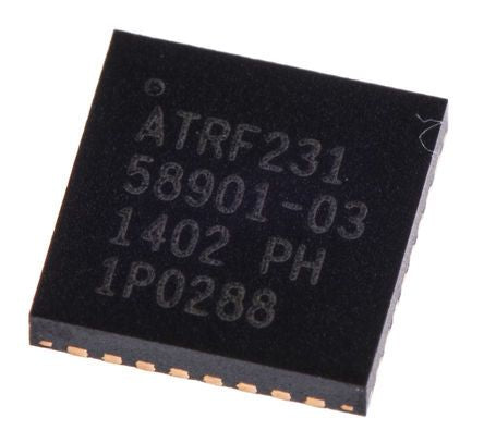 Microchip AT86RF231-ZU 1276608