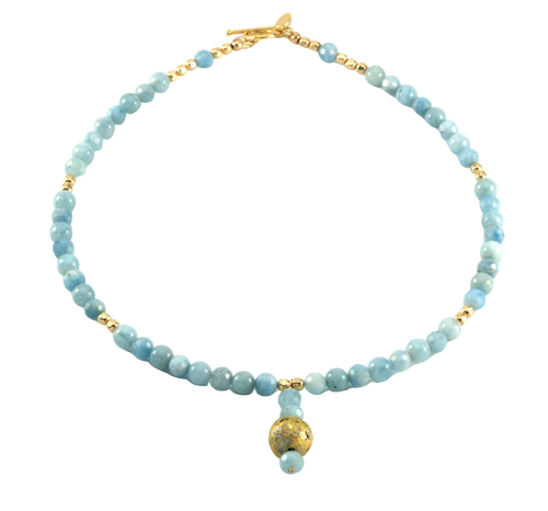 Aquamarine Glow Necklace