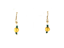 Load image into Gallery viewer, Emerald Kisses Earrings