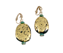 Load image into Gallery viewer, Twin Island Clip Earrings