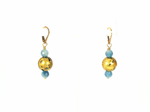 Aquamarine Glow Earrings