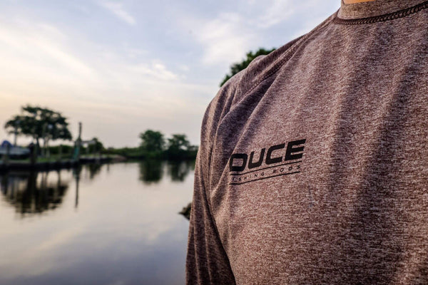 Team DUCE Long Sleeve Cool and Dry Performance Shirt
