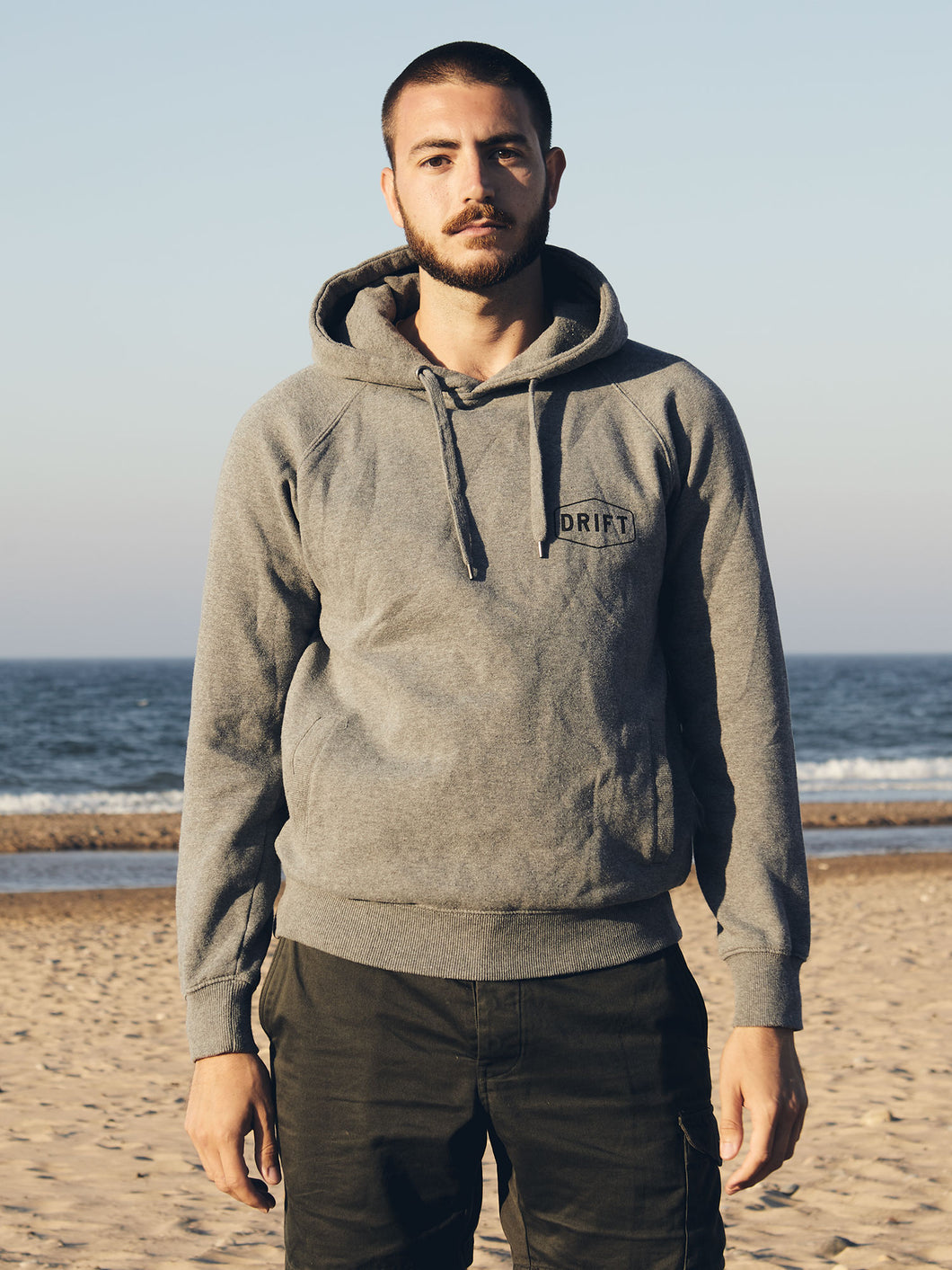 Cove Pullover Hoody Grey