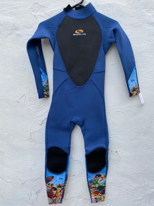Sola Storm Junior 3mm Full Wetsuit Coral Reef