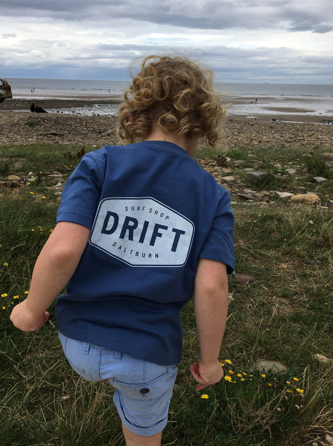 Drift Kids Tee Blue