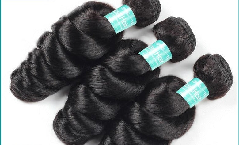 Hair Brazilian Loose Wave Bundles - Human Hair Weave