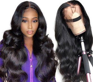 360 Lace Front Human Hair Wig - Pre-Plucked With Baby Hair