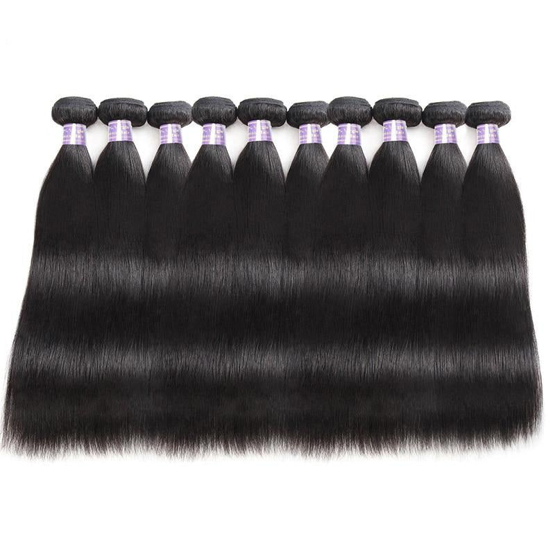 Wholesale Price Straight Hair Bundles 10pcs/Lot - Human Hair