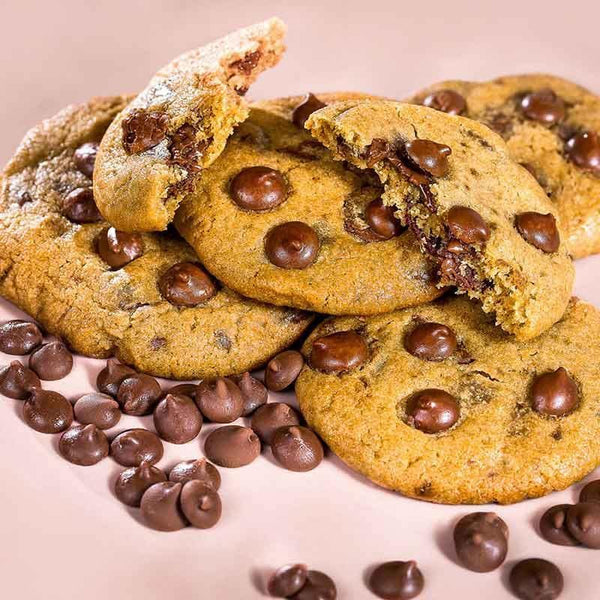 Caixa Cookies Congelados Sabor Chocolate Chips - Cookie Project Brasil