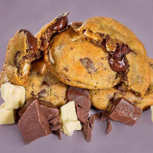 Caixa Cookies congelados Sabor Triple Chocolate - Cookie Project Brasil