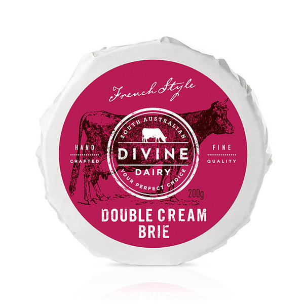 Divine Dairy Double Cream Brie