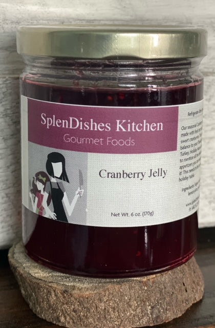 Cranberry Jelly (Available October - January)