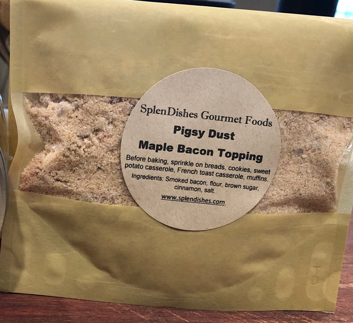 Pigsy Dust Maple Bacon Topping