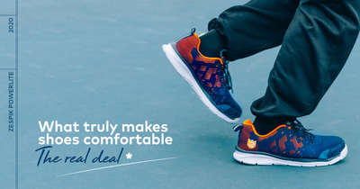 WHAT TRULY MAKES SHOES COMFORTABLE                                                 - THE REAL DEAL