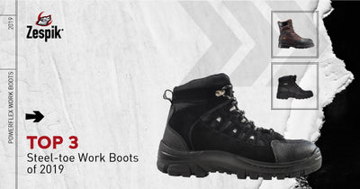 TOP 3 STEEL-TOE WORK BOOTS FOR MEN IN 2019