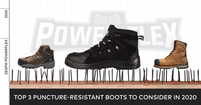 LOOK FOR A NEW PAIR OF PUNCTURE-RESISTANT BOOTS? CONSIDER THESE 3