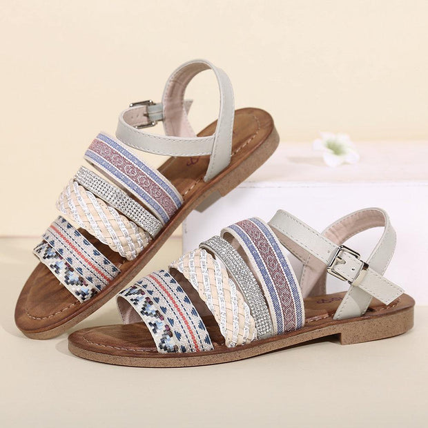Women's Bohemia Open Toe Flat Sandals