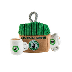 Starbarks Coffee House Interactive Toy | Plush Toy Set - Sunday Paws