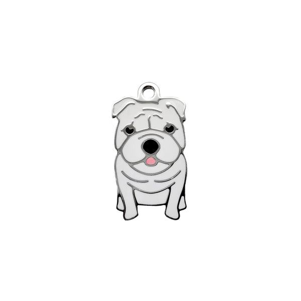 English Bulldog | Dog Tag - Sunday Paws