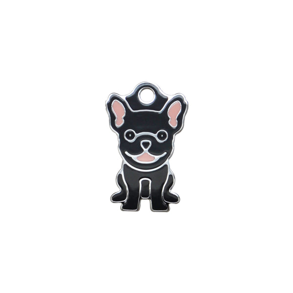 French Bulldog Black | Dog Tag - Sunday Paws