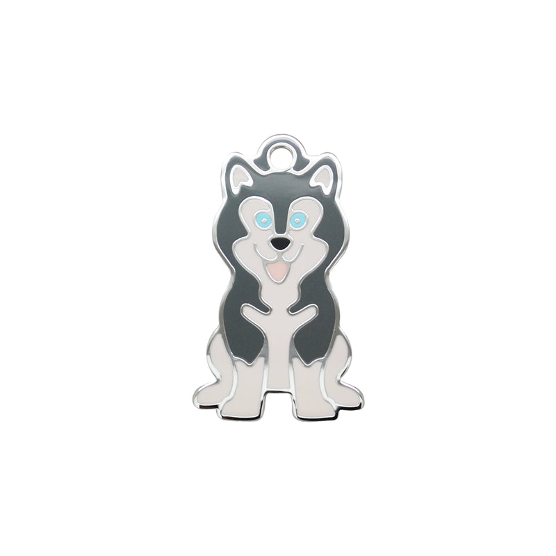 Husky Grey | Dog Tag - Sunday Paws