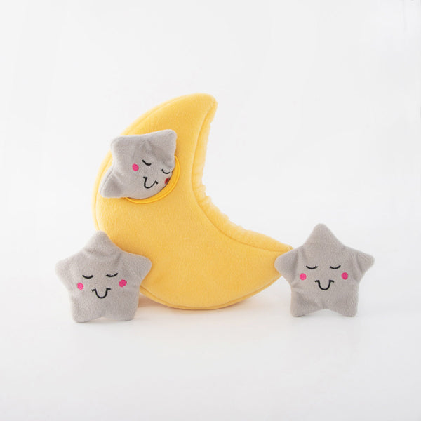 Moon and Stars | Interactive Toy | Plush Toy Set
