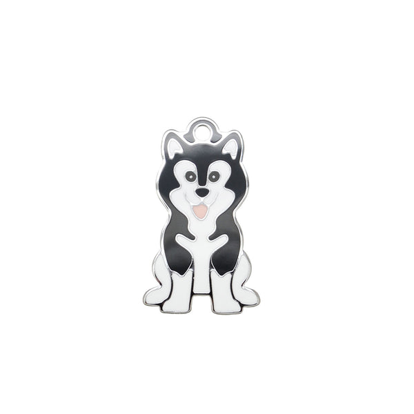 Husky Black | Dog Tag