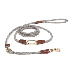 CLIC Four Way Shoulder Leash | Bi-Tone Tan on Beige - Sunday Paws