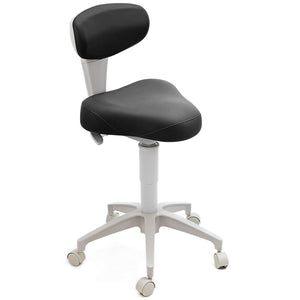 Doctor Stool T Seat Black