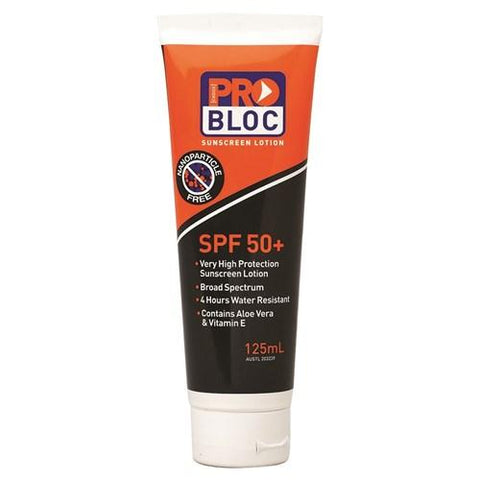 50+ SUNSCREEN 125ML-PROBLOC-Task Supplies