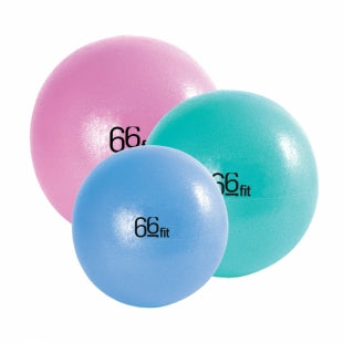 66Fit Soft Stability Yoga/Pilates Balls