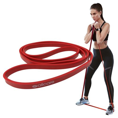 Allcare Resistance Band Power Loop 100cm Red - X - Light Resistance